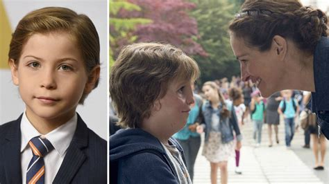 actor plays wonder jacob tremblay s new movie wonder gets heartwarming first