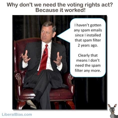 section 2 of voting rights act justice roberts why you don t need a spam filter and