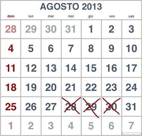 Calendario Agosto 2013 Almerico Da Schio News Calendario Esami Agosto 2013