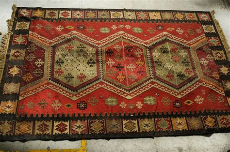 middle eastern rugs for sale vintage middle eastern knotled rug 75 quot x 111 quot reversible ebay