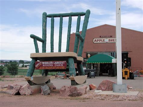 Worlds Largest Rocking Chair by World S Largest Rocking Chair Roadside Wonders