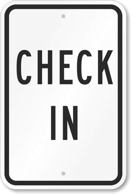 sign inn in check in sign hotel registration signs low prices