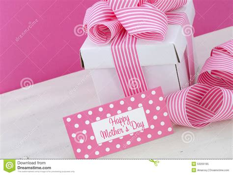Skinnova Whitening Complete Day Pink happy mothers day white gift box with pink stripe ribbon stock photography cartoondealer