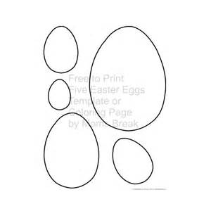 small easter egg template easter egg templates for dtp projects available from