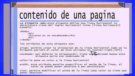 imagenes html bloc de notas 2 como crear tu pagina web manual html estructura de
