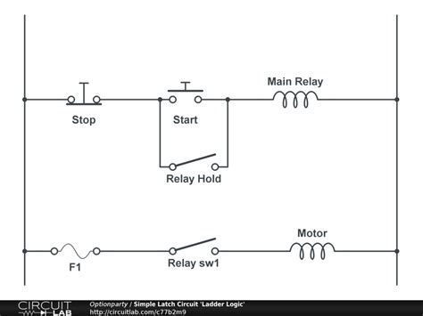 simple latching relay circuit diagram efcaviation
