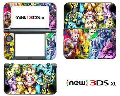 Stickers Para Nintendo 3ds vanknight vinyl decals skin sticker anime for the new