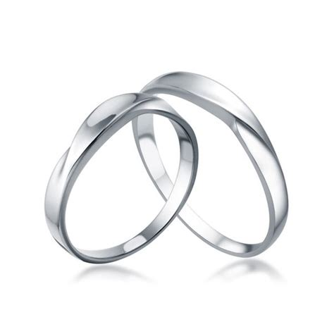 white gold his and matching wedding rings for couples