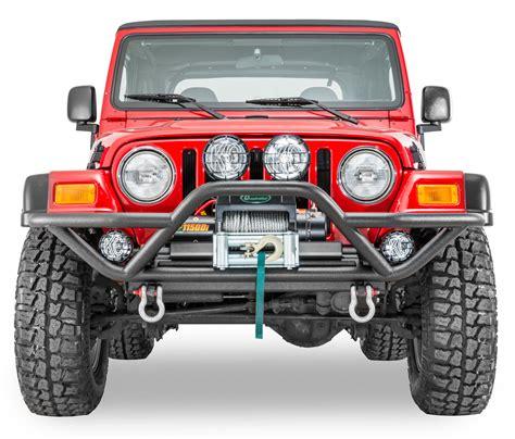 jeep wrangler yj front bumper quadratec qrc front bumper for 87 06 jeep wrangler yj tj