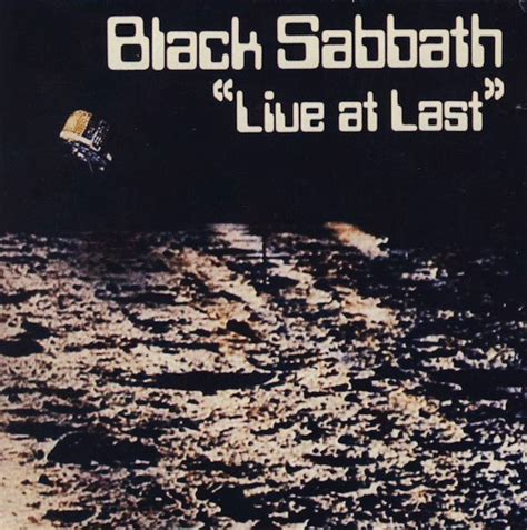 At Last black sabbath live at last cd at discogs