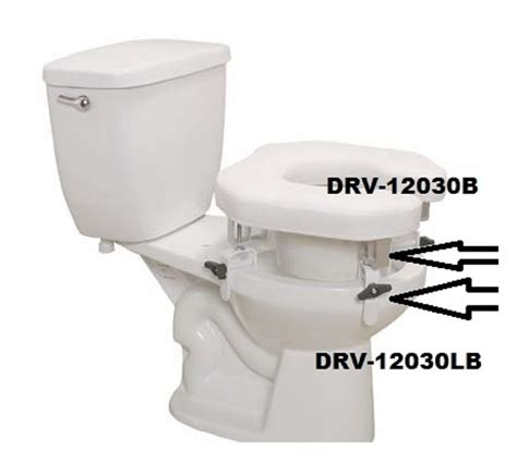 replacement parts  padded raised toilet seat