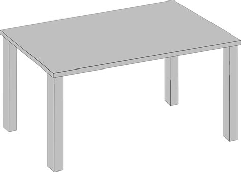 Vector Table by Free Vector Graphic Table Furniture Living Room 3d