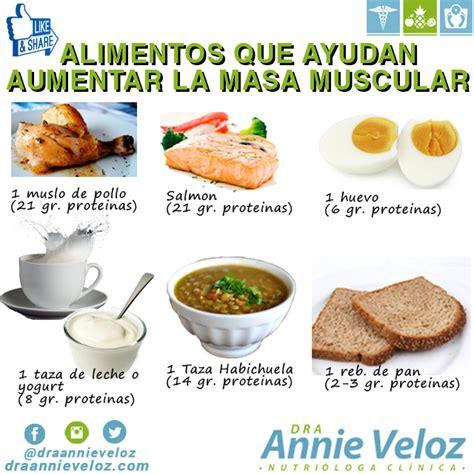 alimentos  aumentan la  muscular dietas de nutricion  alimentos