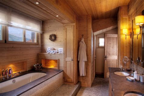 lodge bathroom ski resort chalet eclectic bathroom other metro by