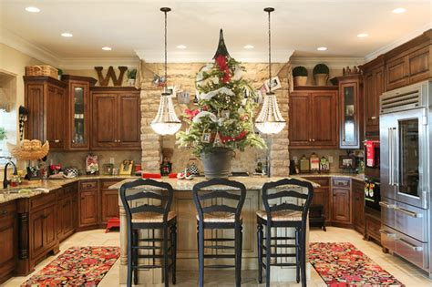 christmas decoration ideas for kitchen holiday decor traditional kitchen columbus by