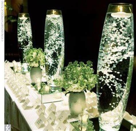 hermoso centro de mesa para boda arreglos florales para boda con baby s breath 161 encantadores