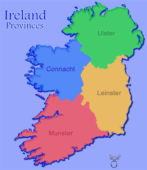 provinces map mooseman de gallery ireland provinces counties