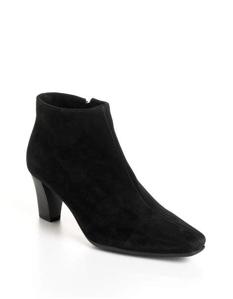 la canadienne deacon suede ankle boots in black lyst