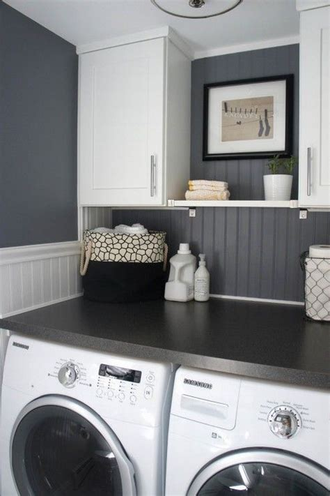 17 best ideas about grey laundry rooms on