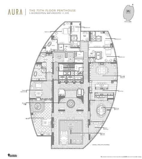 absolute towers floor plans penthouse floor plans spectacular residential tower with