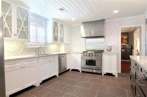 herringbone marble backsplash herringbone backsplash transitional kitchen cote de