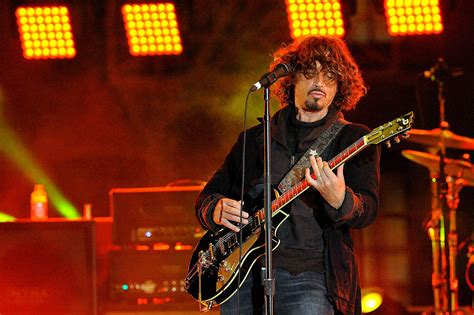direct tv guitarist soungarden lead singer chris cornell was a rock master