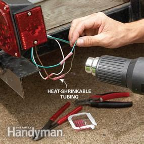 how to install boat trailer lights trailer lights that always work the family handyman