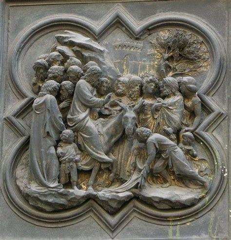 ingresso a gerusalemme 11 ingresso a gerusalemme porta nord battistero di