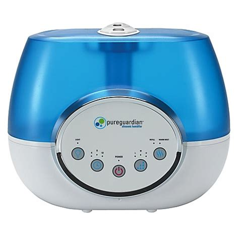bed bath beyond humidifier pureguardian 174 100 hour warm and cool mist ultrasonic