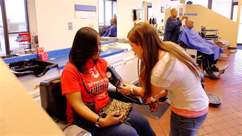 Background Check For Nursing Students Shave And A Health Screening 100 Black Umsl Slu Collaboration Promotes Health