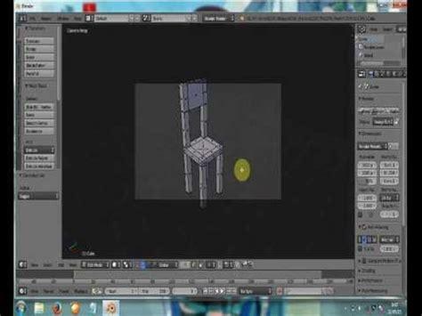 membuat gambar 3d di blender cara membuat kursi 3d menggunakan aplikasi blender by