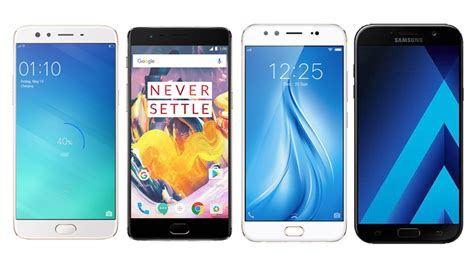 Samsung Oppo F3 oppo f3 plus vs oneplus 3t vs vivo v5 plus vs samsung galaxy a7 2017 which phone is right for