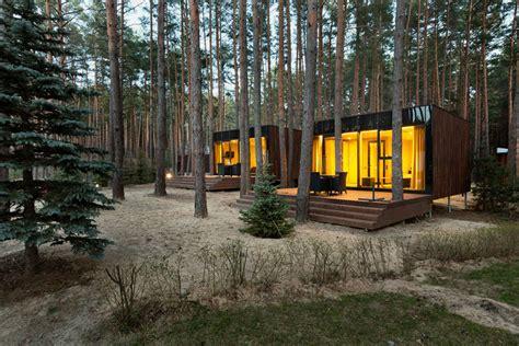 guest house designs yod design studio sets guest houses amid ukrainian forest