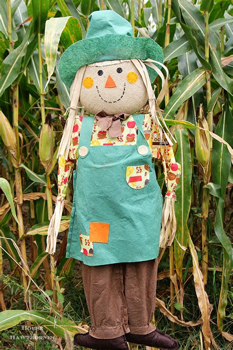 Fall Home Decor Diy diy scarecrow tutorial house of hawthornes