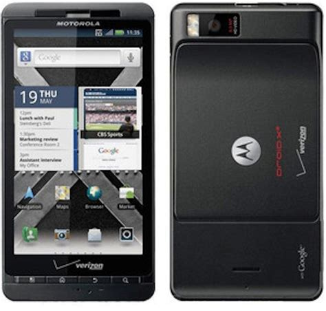 droid x pc motorola droid x bluetooth wifi gps pda phone verizon fair condition used cell phones cheap