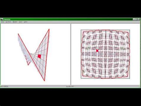 Paper Folding Software - origamizer demo origami and architecture