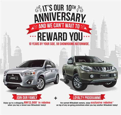 new year car promotion malaysia mitsubishi motors malaysia promotions