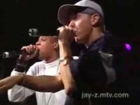 eminem jay z renegade jay z featuring eminem renegade live 2001 youtube