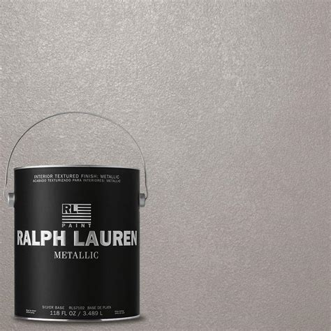 ralph 1 gal silver plated silver metallic specialty finish interior paint me106 the