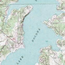 lake nocona nocona usgs topographic map by mytopo