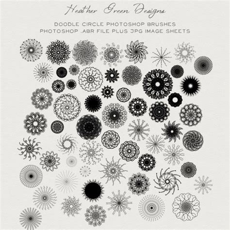 doodle flowers brushes best 97 flower clip images on diy and crafts