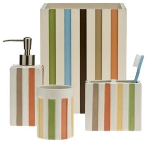 target bathroom decor target home striped bath collection contemporary