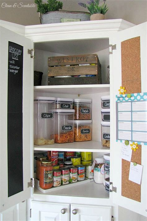 how to organize kitchen cabinets and pantry how to declutter and organize any space clean and scentsible
