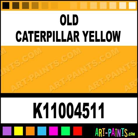 yellow paint sles caterpillar paint code