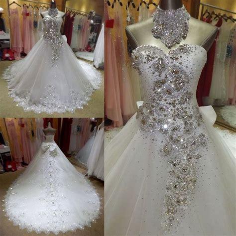 Best 25  Crystal wedding dresses ideas on Pinterest