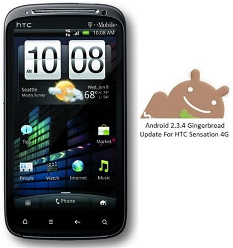 htc android update htc sensation 4g gets android 2 3 4 gingerbread update 1 45 531 1 from t mobile