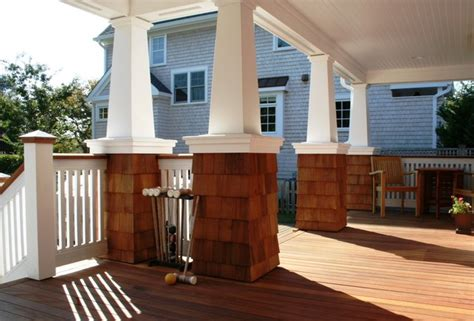 jerakis residence beach style porch new york by