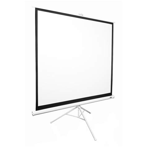 Tripod Screen 70 elite screens 99 in tripod portable projection screen matte white t99nws1 the home depot