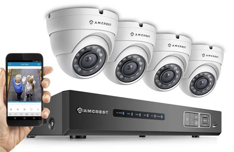 amcrest hd 1080p 4ch security system home