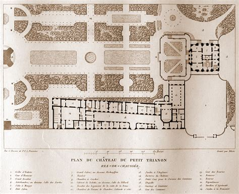 petit trianon floor plan petit trianon plan google s 248 gning architecture